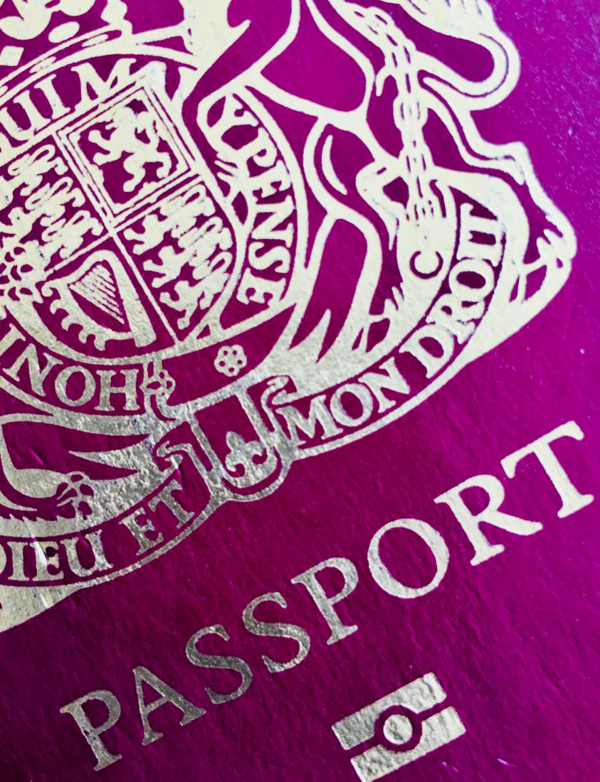 British passport expired