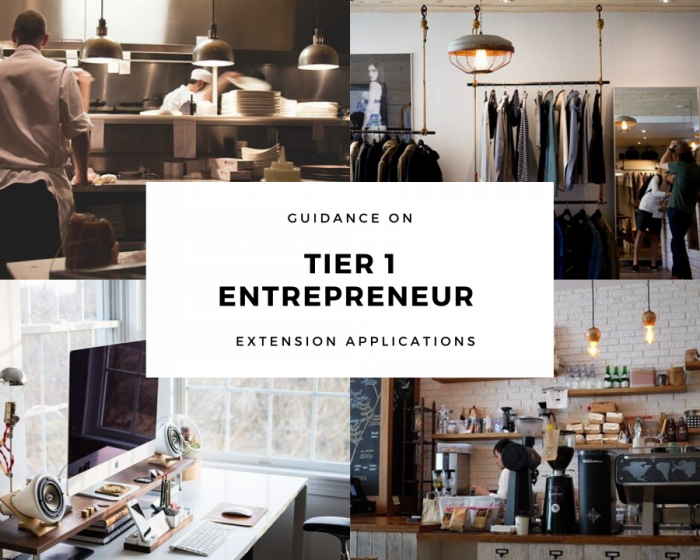 Tier 1 Entrepreneurs